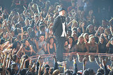 Justin Timberlake performed at the VMAs.