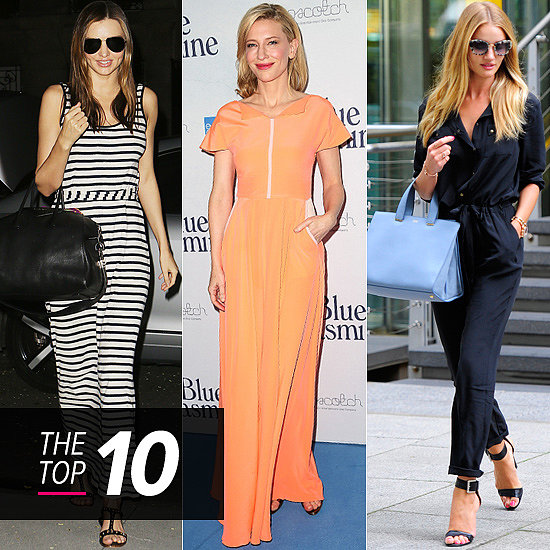 Top 10 Best Dressed Of The Week: Miranda & Rosie Off Duty, Peachy Hues and More!