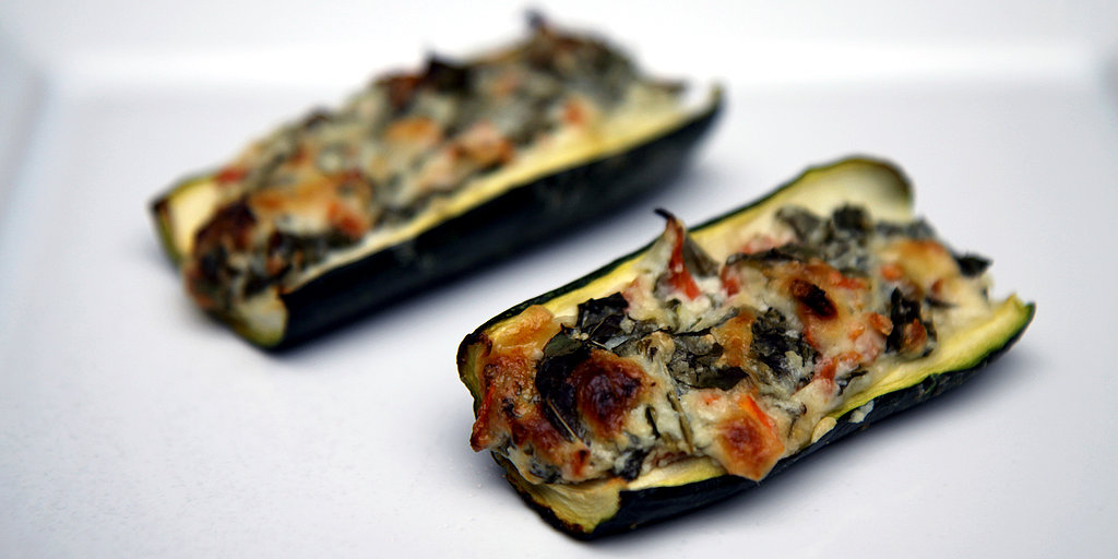 Come Sail Away! 25-Calorie, Low-Carb Zucchini Boats