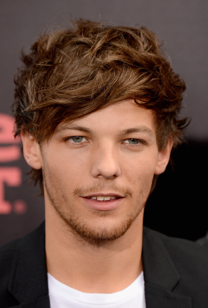 Louis Tomlinson stepped out for the premiere of the One Direction movie.