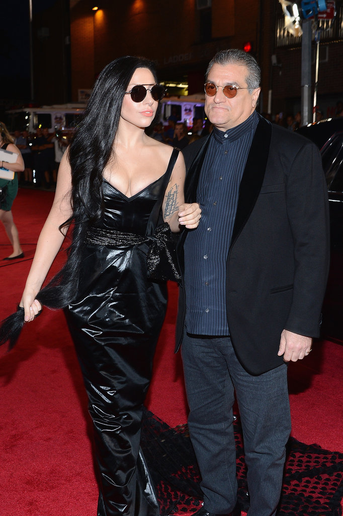 Lady Gaga and Joe Germanotta