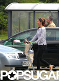 Kate Middleton went shopping on the island of Anglesey, which marked her first appearance since leaving the hospital with Prince George.
