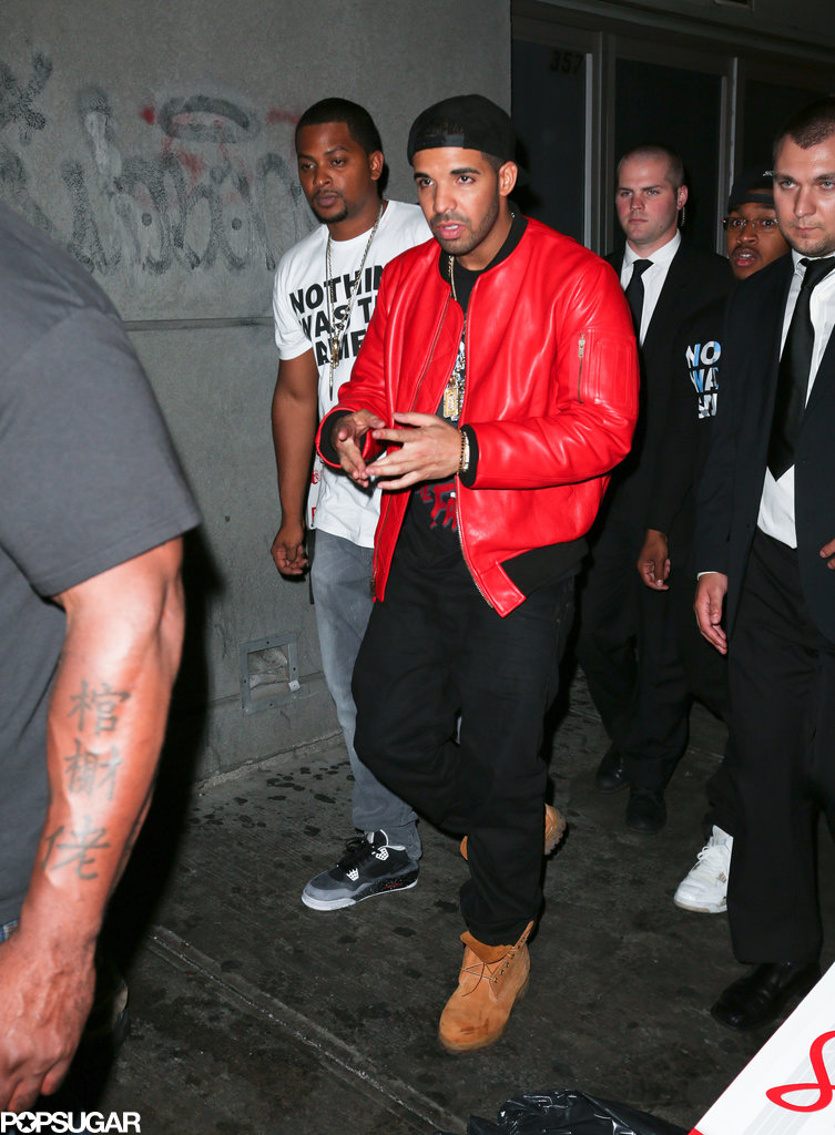 Drake attended the VMAs afterparty at the Dream Hotel in NYC.