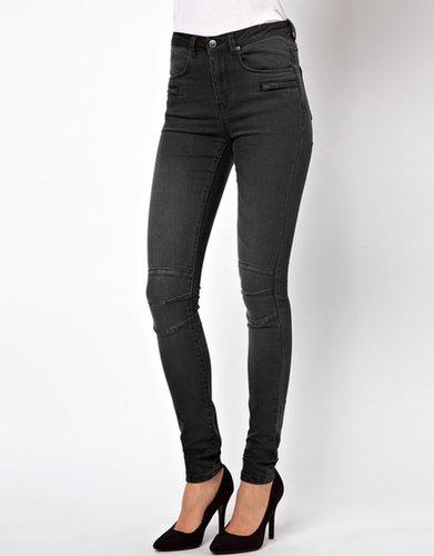 ASOS Supersoft Skinny Biker Jeans