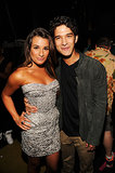 Lea Michele and Tyler Posey took a photo together backstage at the July 2012 Teen Choice Awards in LA.