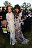 Lea Michele and Ashley Tisdale were dressed to the nines for the Chrysalis Butterfly Ball in LA in June 2012.