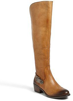 Vince Camuto 'Bedina' Over the Knee Boot Womens Brown Size 6.5 M 6.5 M
