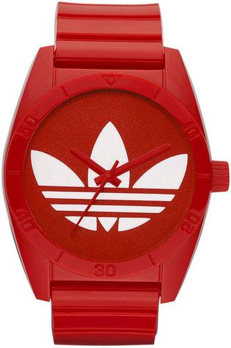adidas Watch, Red Polyurethane Bracelet 42mm ADH2655