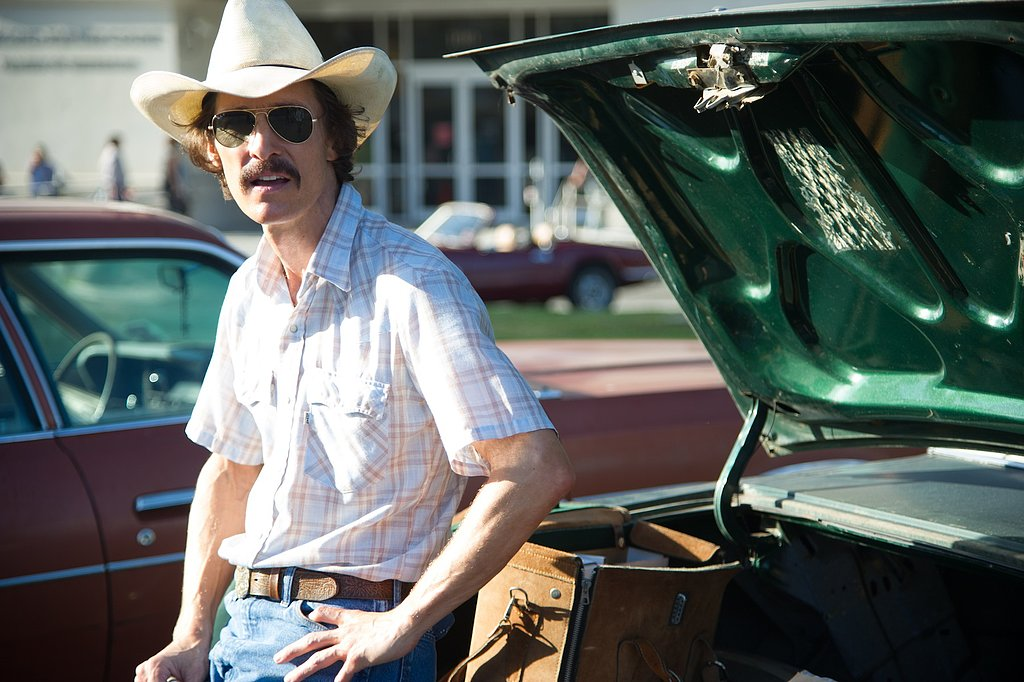 Matthew McConaughey in Dallas Buyers Club.