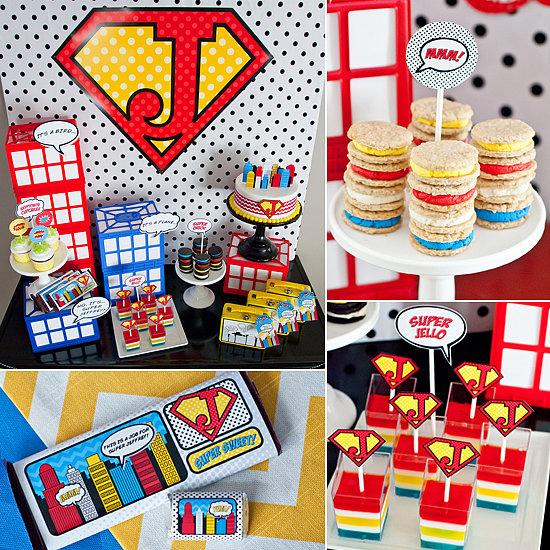 A Cool, Colorful Superhero Party — on a Budget