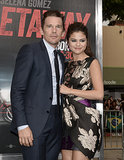 Selena Gomez and Ethan Hawke posed in LA at the premiere of Getaway.