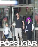 Zach Braff filmed with Joey King on the LA set of Wish I Was Here on Tuesday.