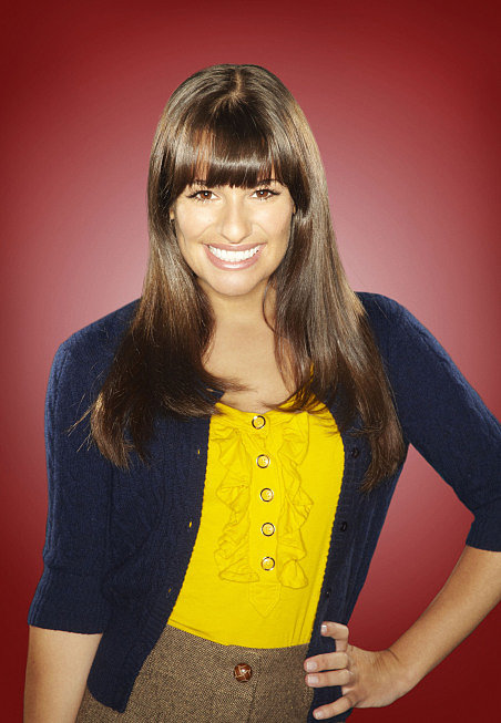 Rachel's season two portrait matches the brighter attitude she brings to New Directions — now that she's not quite so self-absorbed.