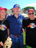 Bill Clinton made a stop in East Hampton for a celebrity softball game in August.