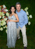 Hamptons regulars Alec Baldwin and his wife, Hilaria, joined Jerry Seinfeld and Jessica Seinfeld at the Baby Buggy party in July.