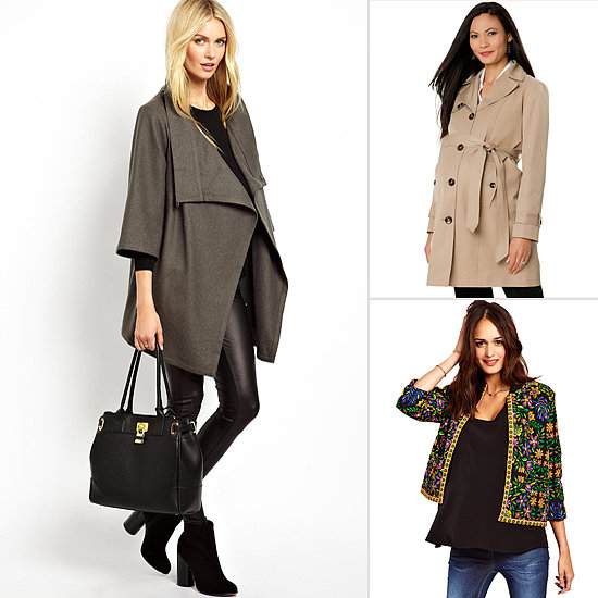 Flattering Fall Maternity Jackets You'll Want to Keep Forever