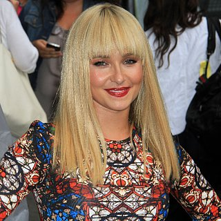 Hayden Panettiere With Blonde Blunt Fringe