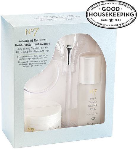 Boots No7 Advanced Renewal Anti-Ageing Glycolic Peel Kit 1 ea