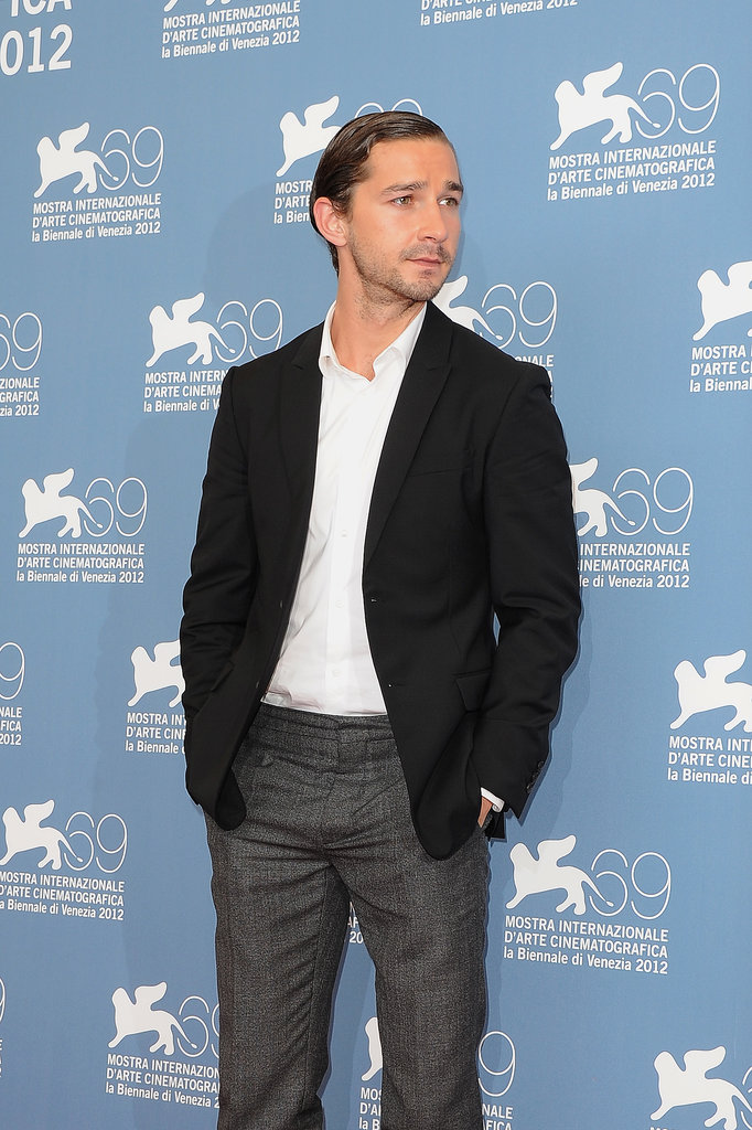 Shia LaBeouf attended a photo call for his film, The Company You Keep, in 2012.