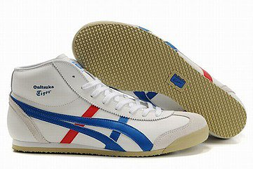 Onitsuka Tiger Mexico 66 Mid White/Blue/Red Men's