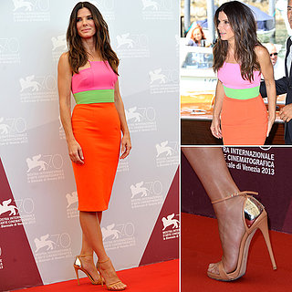 Sandra Bullock Dress Venice Film Festival 2013