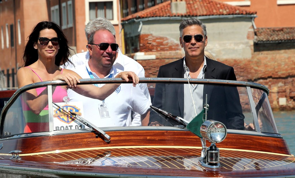 Sandra Bullock and George Clooney Give Venice a Glamorous Start