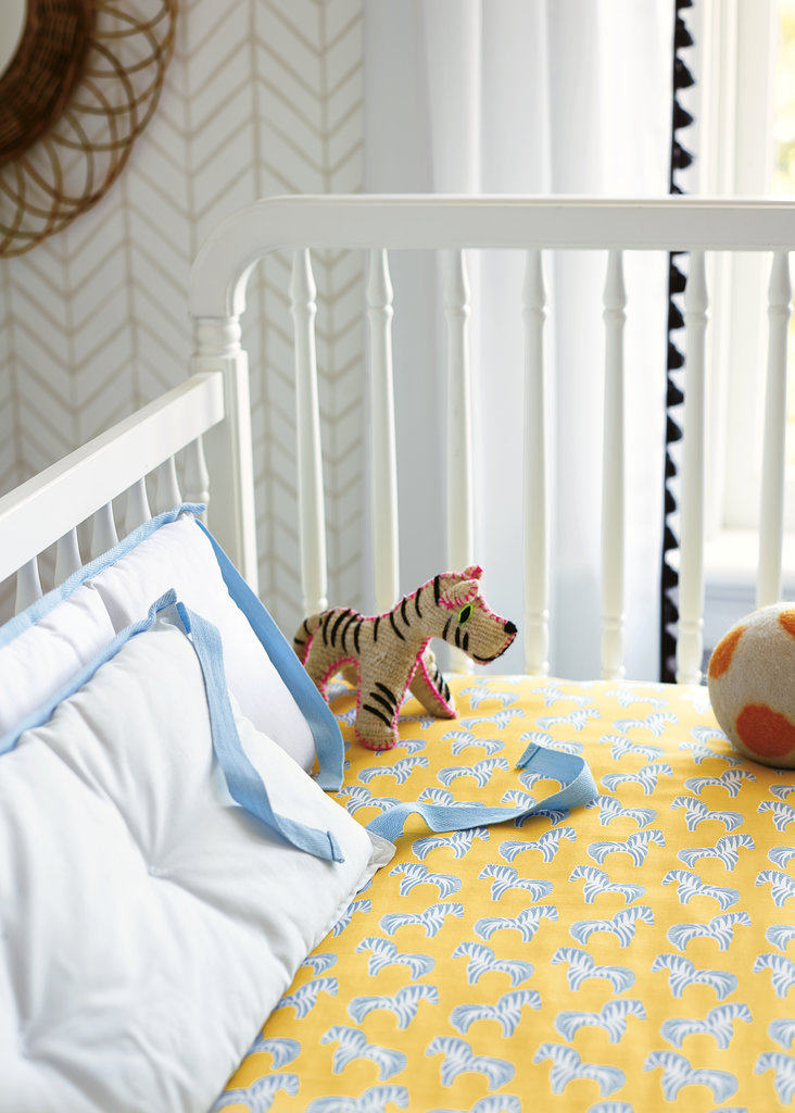 Zebra Crib Sheets ($36)