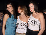 Gwyneth, Stella, and fellow pal Liv Tyler hung out — we can't get enough of those matching one-shoulder tops! — at the Rock Style exhibit opening in NYC in December 1999.
