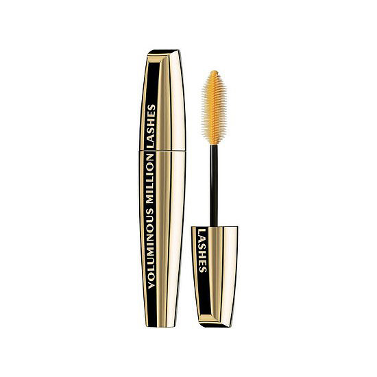With L'Oreal Voluminous Million Lashes Waterproof Mascara ($9) you get great separation with a no-run formula. It has to be one of the best mascaras ever.