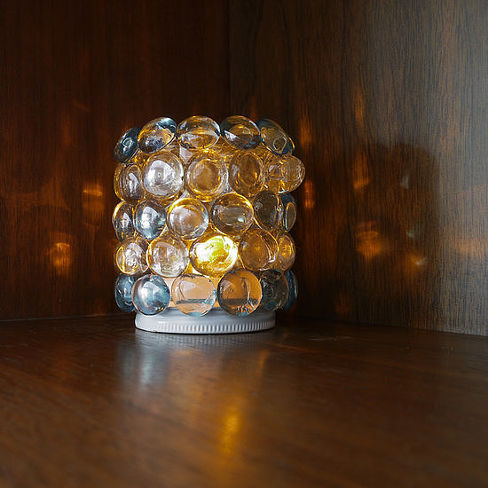 Glass Jar Night Light
