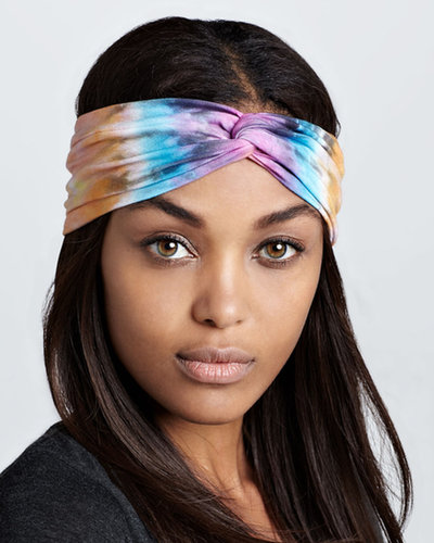 Brightly Twisted Tie-Dye Turban Headband