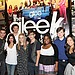 Mark Salling, Lea Michele, Dianna Agron, Cory Monteith, Kevin McHale, Amber Riley, Chris Colfer and Jenna Ushkowitz did signings on The Gleek Tour in New Jersey in Aug. 2009.