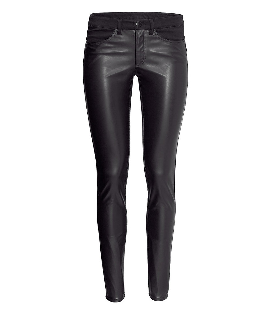 Love the look of sleek leather skinnies but can't stomach the price? Do this H&M version ($30).