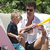 Robin Thicke Shirtless With Paula Patton in Florida