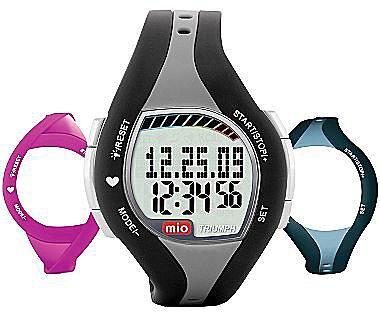 MIO Triumph Heart Rate Monitor Watch w/ Bonus Bands