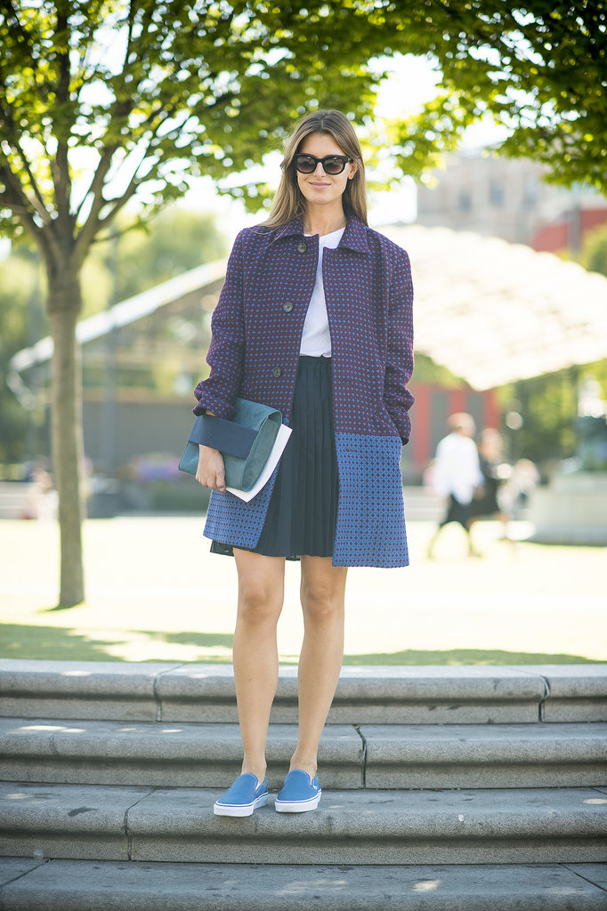 Kind of like the grown-up version of back to school. Source: Le 21ème | Adam Katz Sinding