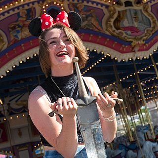 Maisie Williams at Disney World | Pictures