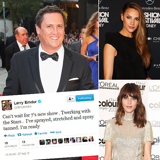Tweets of the Week: Larry Emdur, Rachael Finch, Alexa Chung & More!