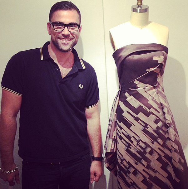 Rubin Singer gave us a peek at his Egyptian-inpsired collection.