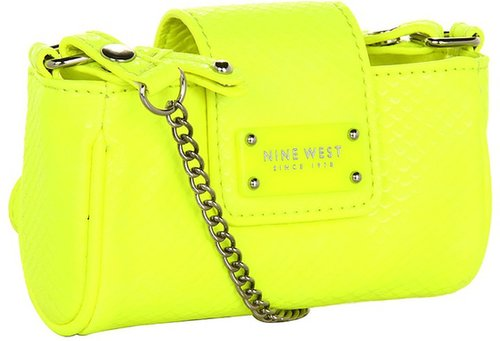Nine West - Bright Lights Mini Tech -Citron/ Mm (Citron) - Bags and Luggage