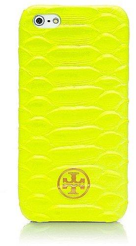 Tory Burch Neon Snake Hardshell Case For Iphone 5