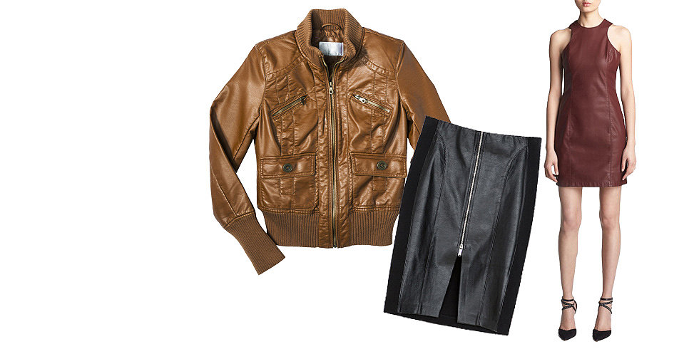 Faux Leather Under $50 You've Gotta See to Believe