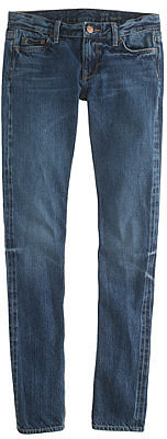 Matchstick jean in harbor wash selvedge