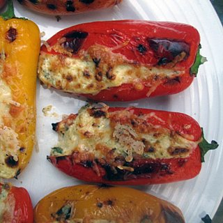 Feta Stuffed Pepper Recipe