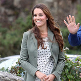 Kate Middleton First Official Post-Baby Appearance Style