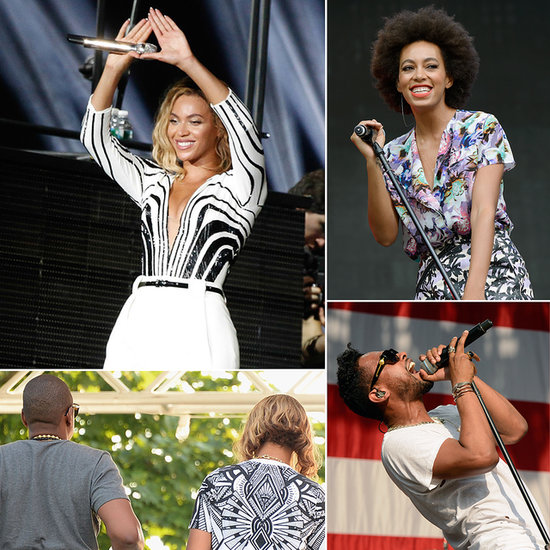Sister Act: Beyoncé and Solange Knowles Rock Jay Z's Philly Festival