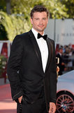 Tom Welling stepped out for the Venice Film Festival.