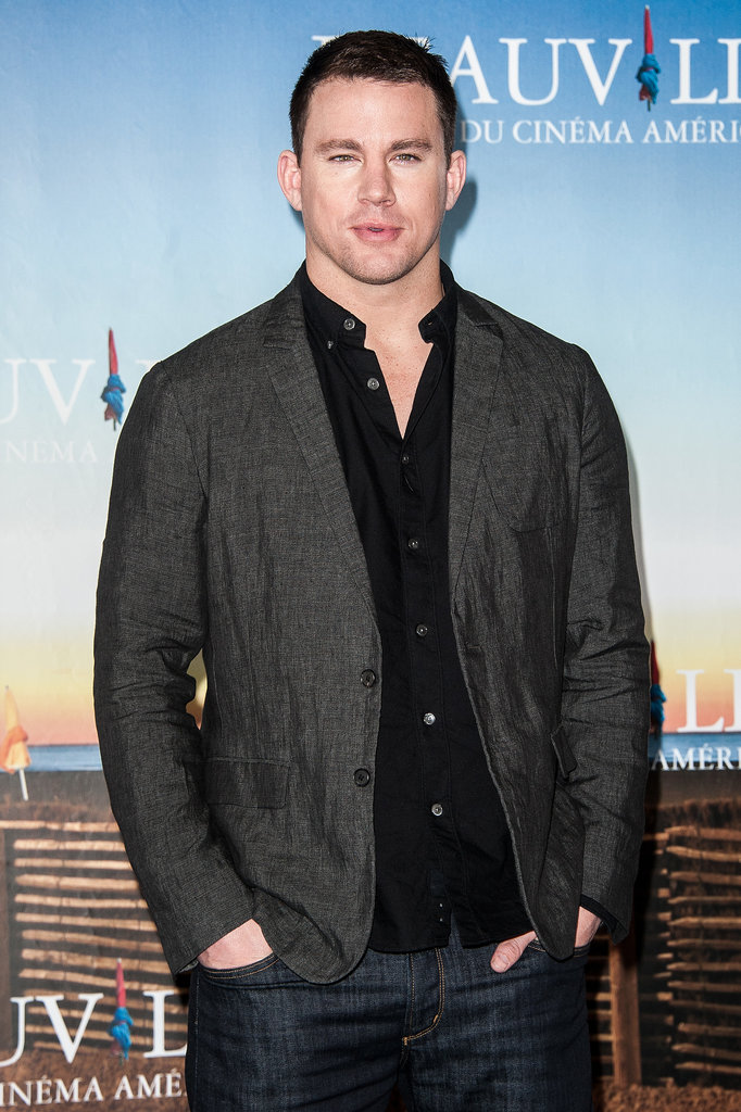Channing Tatum went to the White House Down photocall.