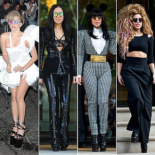 Lady Gaga Fashion in London