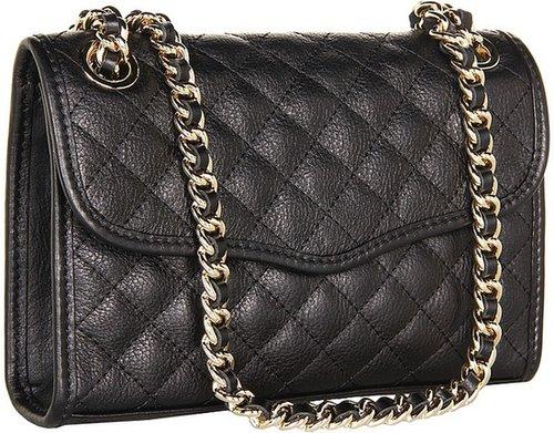 Rebecca Minkoff - Diamond Quilt Mini Affair (Bronze) - Bags and Luggage